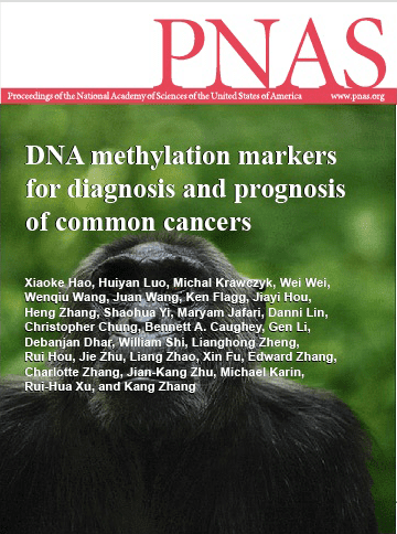 DNA Methylation Markers For Diagnosis And Prognosis Of Common Cancers  July 2017
